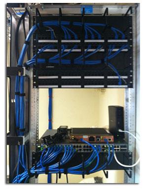 IT Networking Rack